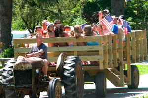Russell Brook Campsites Haywagon Rides