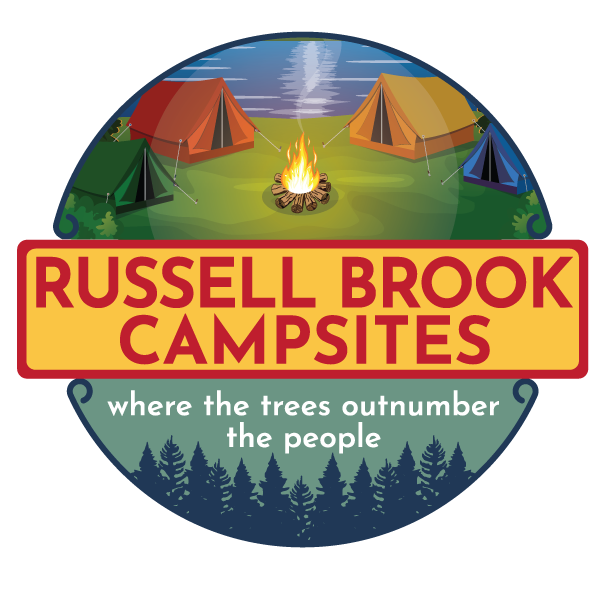 Russell Brook Campsites, where the trees outnumber the people
