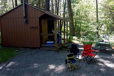 Russell Brook Campsites Cabin Site