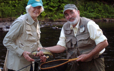 Dick Smith, Fly Fishing Guide