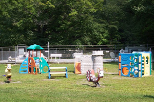 Russell Brook Campsites playground